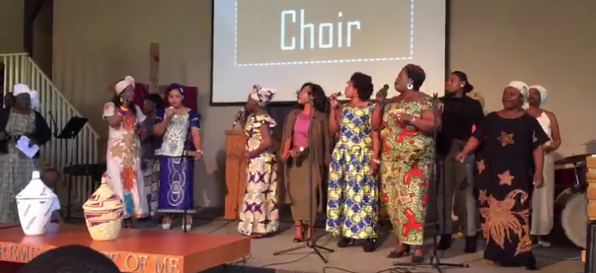 Tumami Choir in action