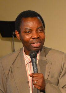 Reverend pastor Gidion